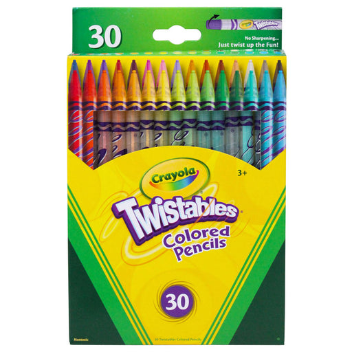 Crayola Twistables 30 Ct Colored Pencils - Supplies by Teachers