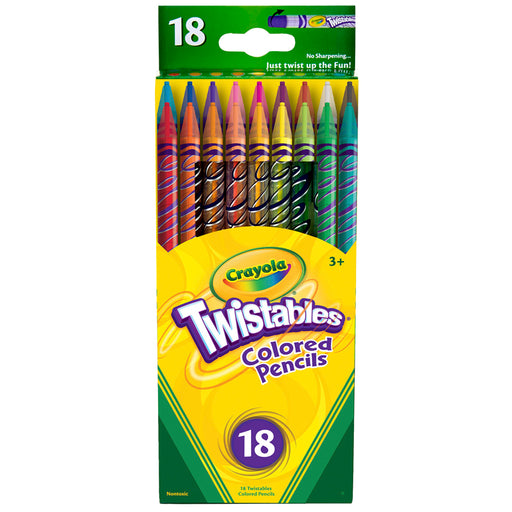 Crayola Twistables 18 Ct Colored Pencils - Supplies by Teachers