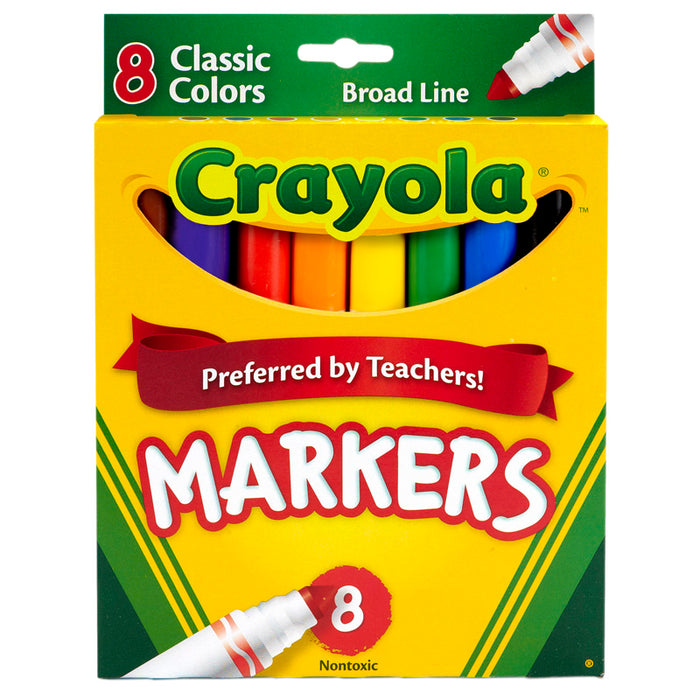 Original Coloring Markers 8 Color - Supplies by Teachers