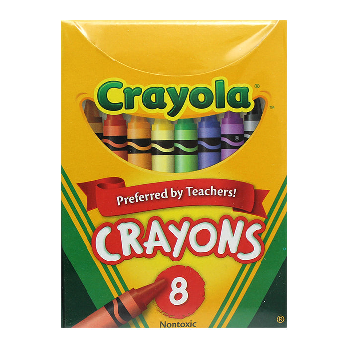 Crayola Regular Size 8 Colors - Supplies by Teachers