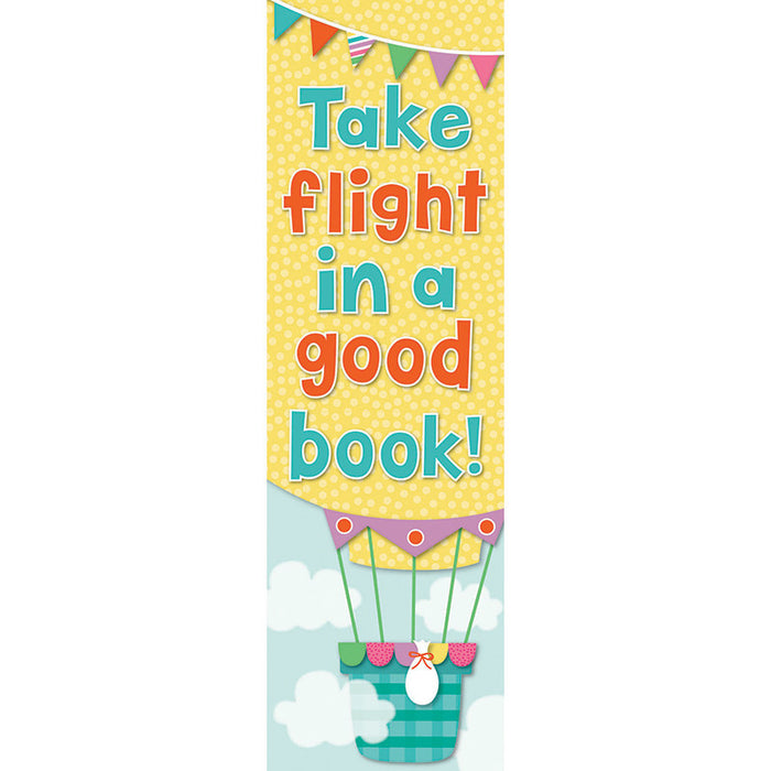 Up And Away Bookmark - Supplies by Teachers