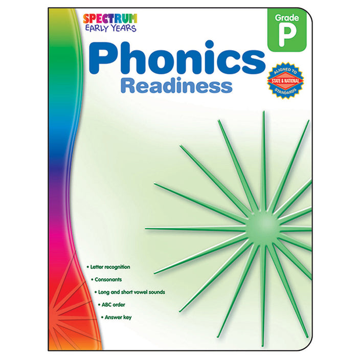 Phonics Readiness Spectrum Early Years