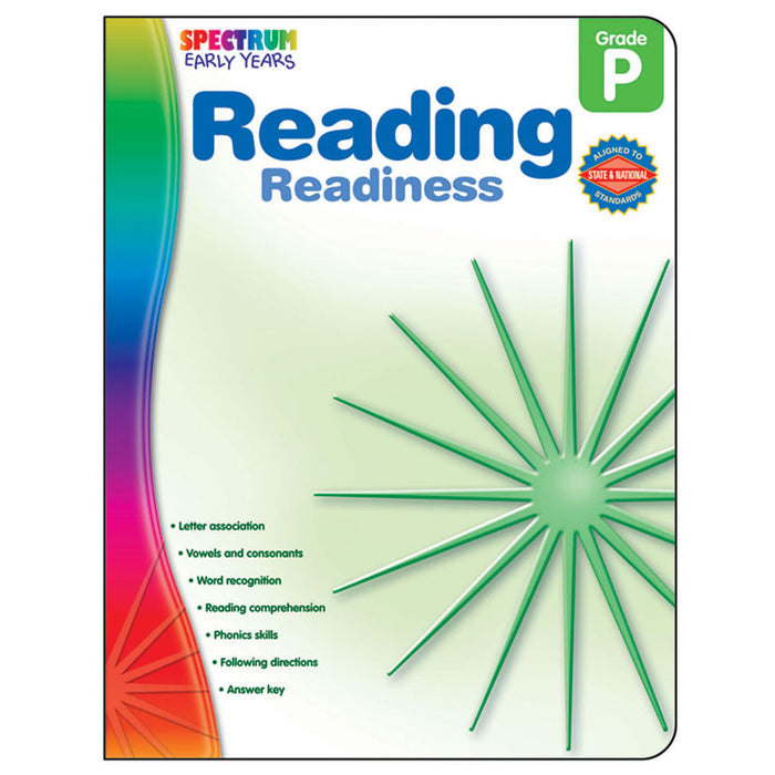 Reading Readiness Spectrum Early Years