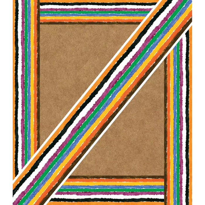 Brown Bear Stripes Straight Border