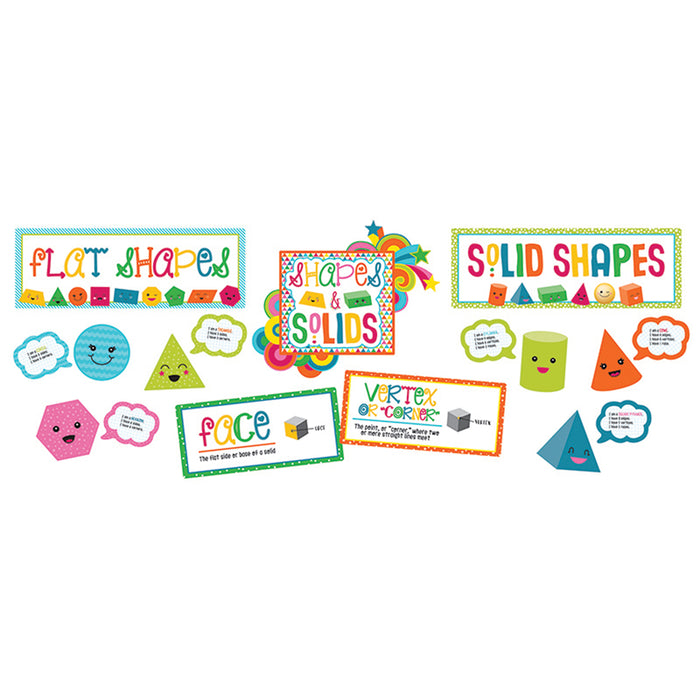 SCHOOL POP SHAPES & SOLIDS BB SET