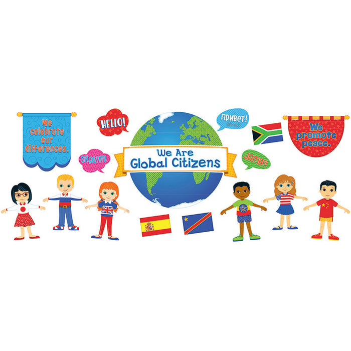 We Are Global Citizens Bulletin Board Set - Supplies by Teachers