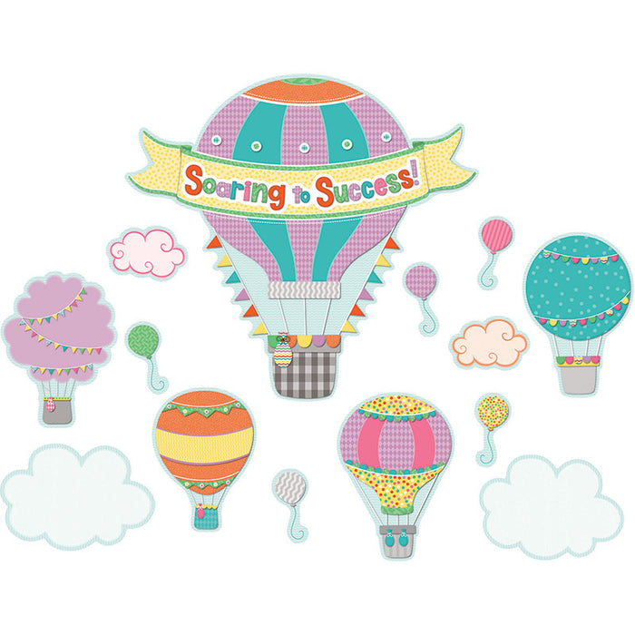 Soaring To Success Bulletin Board Set - Supplies by Teachers