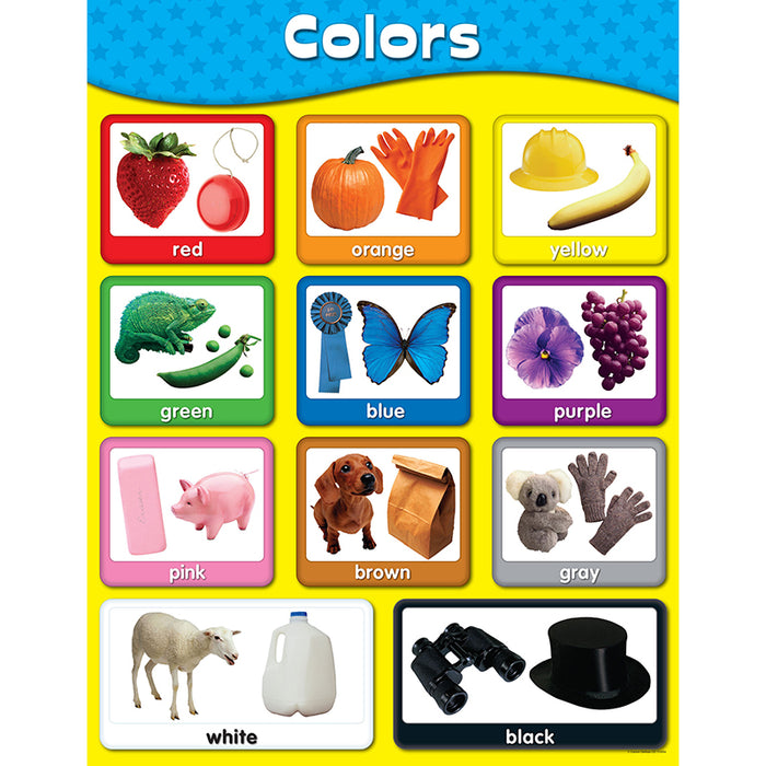Chartlets Colors - Supplies by Teachers