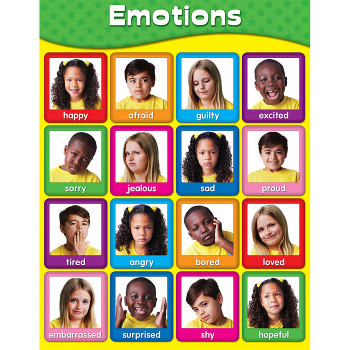Chartlets Emotions - Supplies by Teachers
