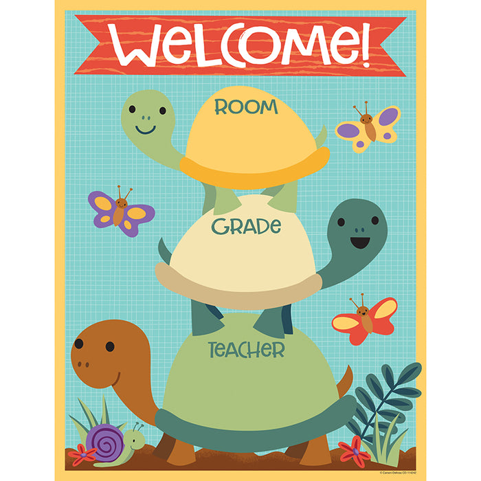 Nature Explorers Welcome Chart - Supplies by Teachers