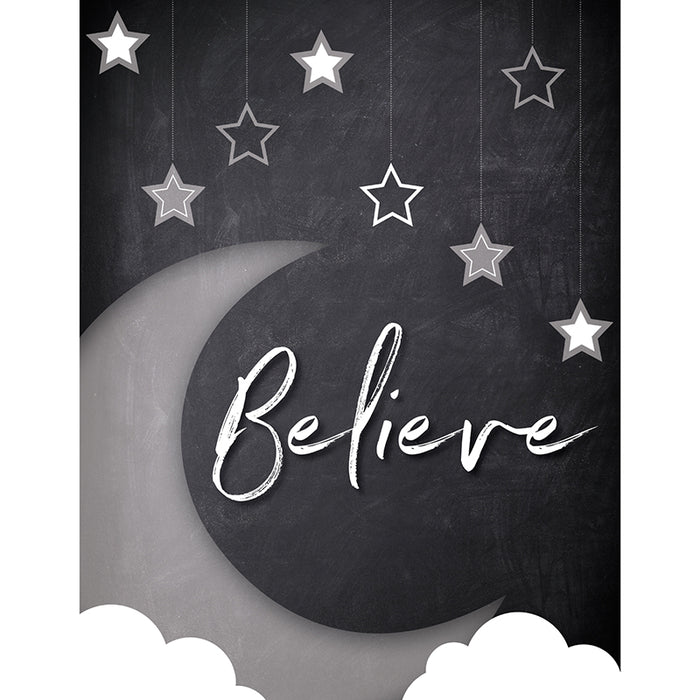 STARS BELIEVE CHART SCHOOL GIRL STYLE - Supplies by Teachers