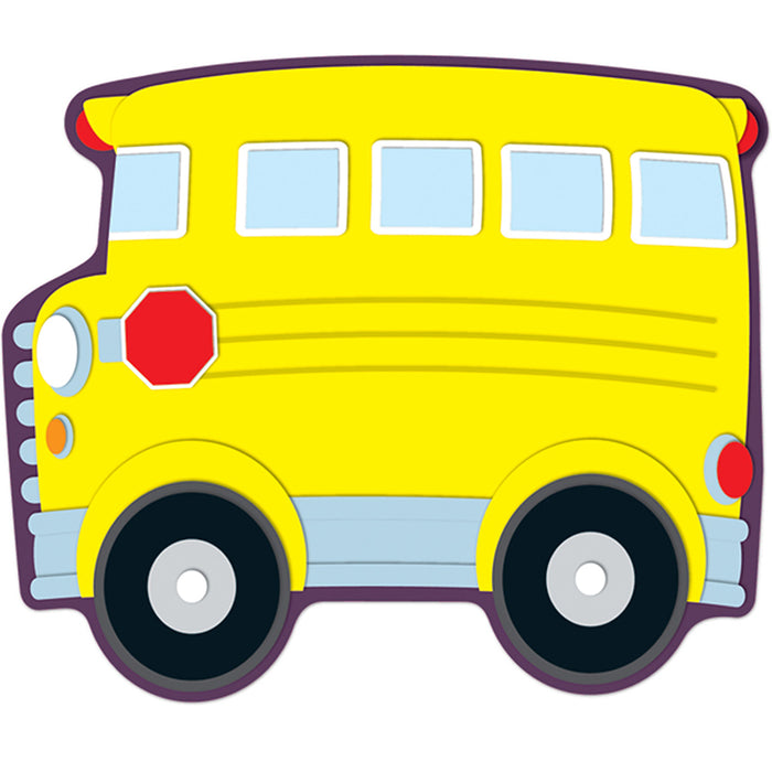 School Bus Accents 36 Pc