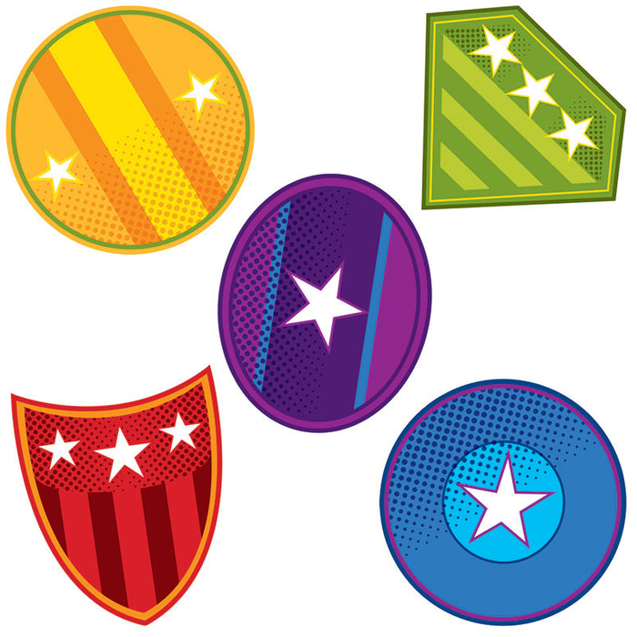 Super Power Shields Cut Outs