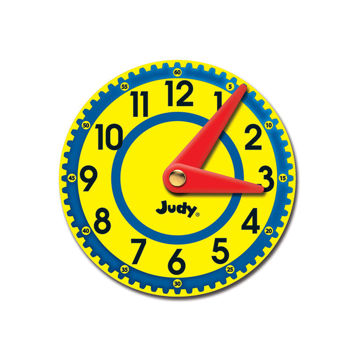 Judy Clocks Colorful Cut Outs Gr K-2
