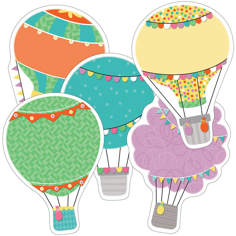 Hot Air Balloon Cutout