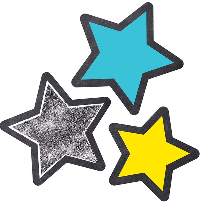 Stars Cut Outs School Girl Style