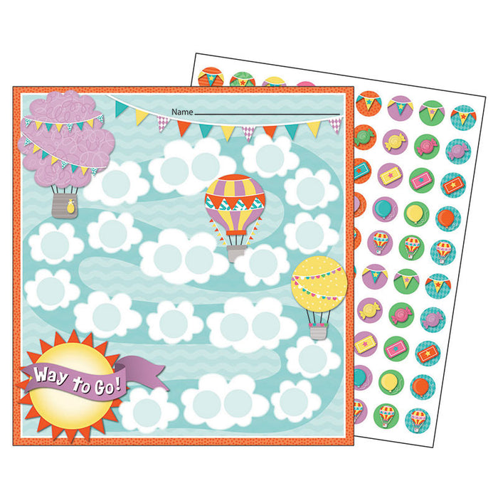 Up And Away Mini Chart - Supplies by Teachers
