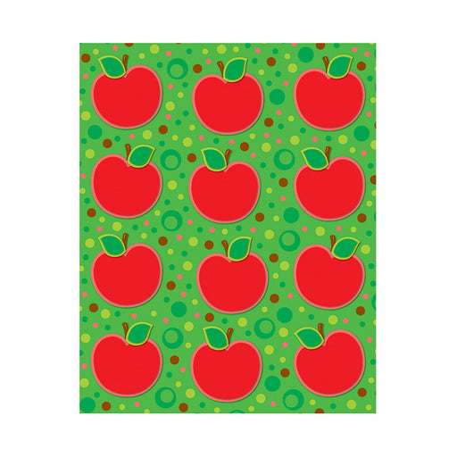 APPLES SHAPE STICKERS 72PK
