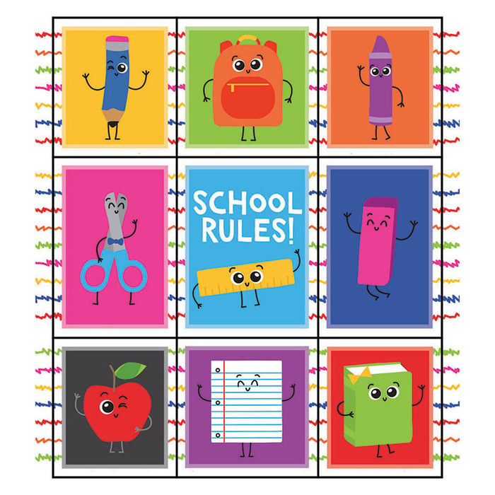 SCHOOL TOOLS STICKERS PRIZE GR PK-5