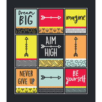 Aim High Prize Stickers