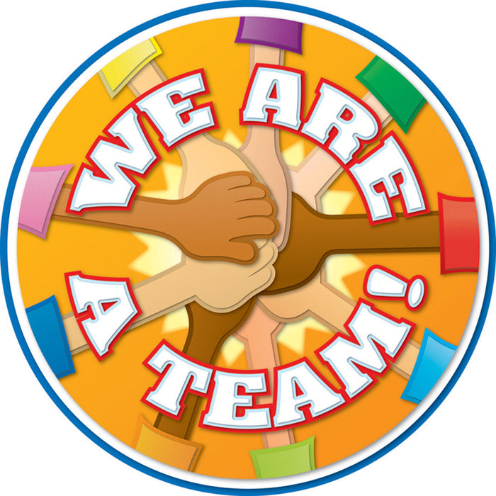 We Are A Team Two Sided Decoration
