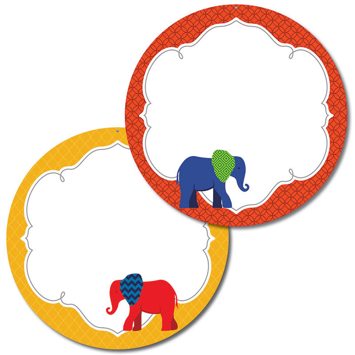 Elephant Two Sided Decorations Gr Pk-5