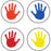 CHART SEALS HANDPRINTS 810/PK ACID