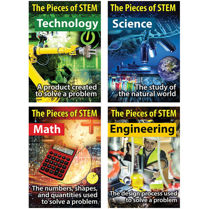 Stem Bulletin Board Set - Supplies by Teachers