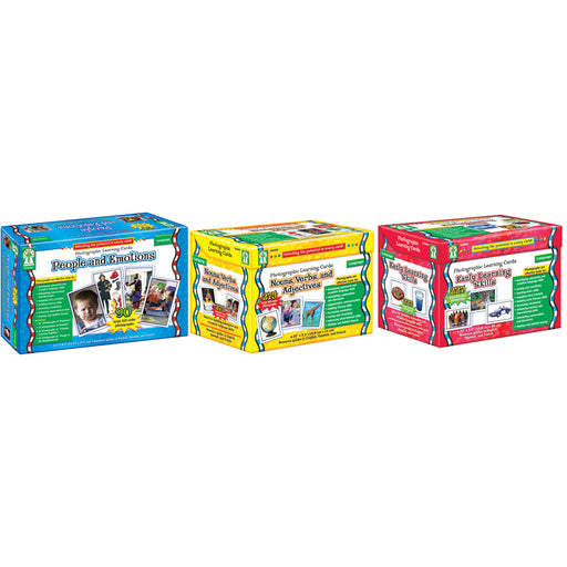 Photographic Learning Card Set Classroom Set