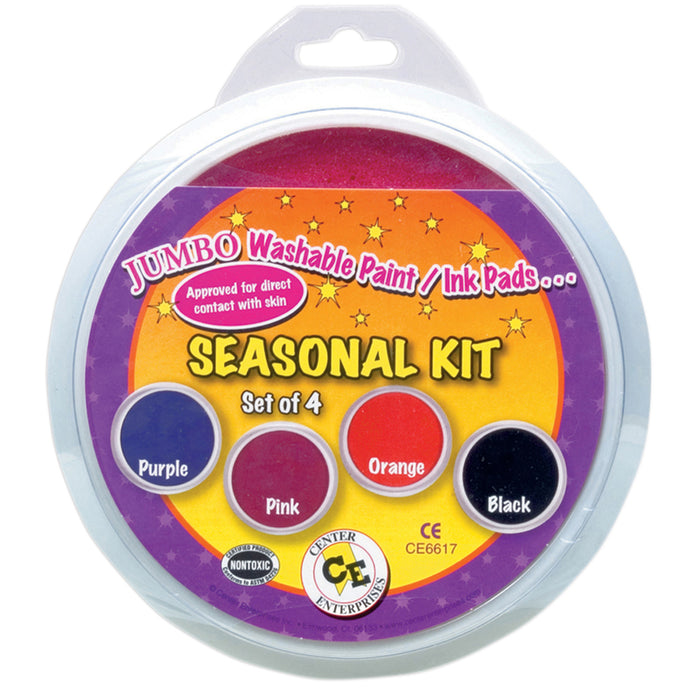 Jumbo Circular Washable Pads Seasonal Kit - Supplies by Teachers