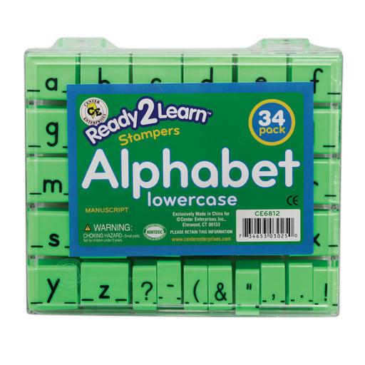 Manuscript Alphabet Stamp Set 1 Lowercase