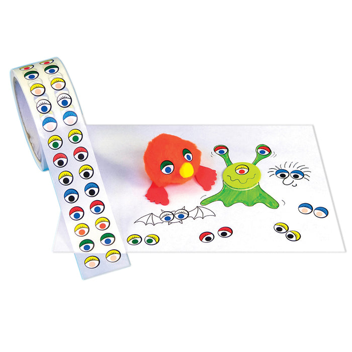Ready2learn Stickers Colored Eyes Creative - Supplies by Teachers