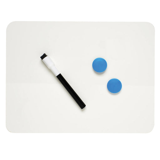 Plain & Plain Dry Erase Board Magnetic 2 Sided