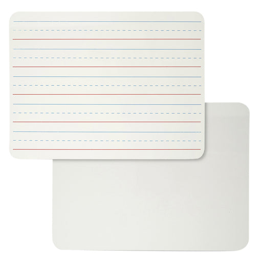 Plain & Lined Dry Erase Board Magnetic 2 Sided