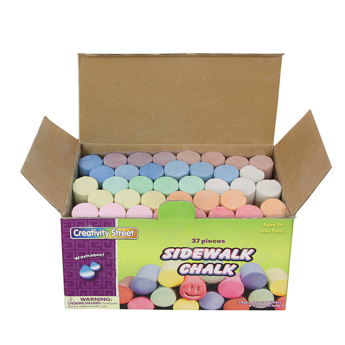 Sidewalk Chalk 37 Pieces - Supplies by Teachers