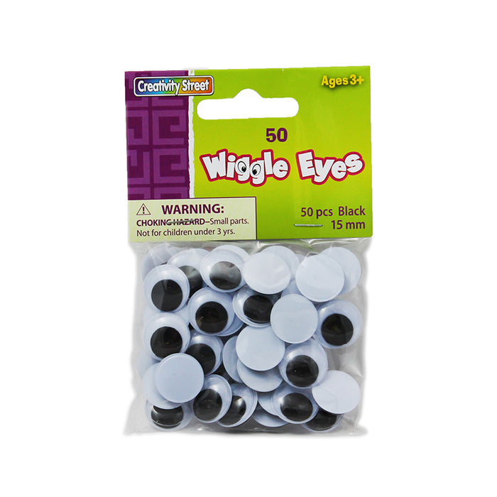 Wiggle Eyes 15mm - Supplies by Teachers