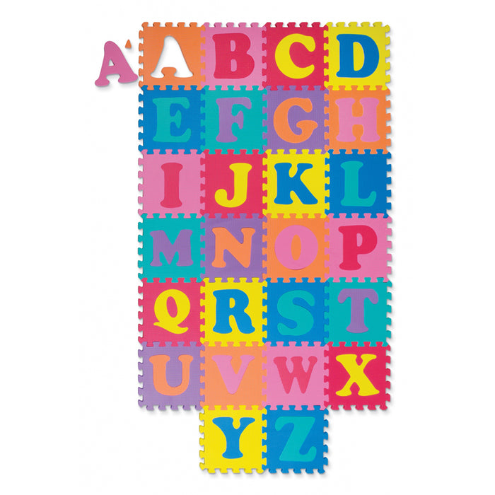 Wonderfoam Alphabet Puzzle 52 Pcs Mat 10 X 10 - Supplies by Teachers