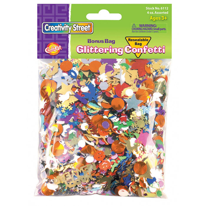 Confetti Value Pack 4 Oz - Supplies by Teachers