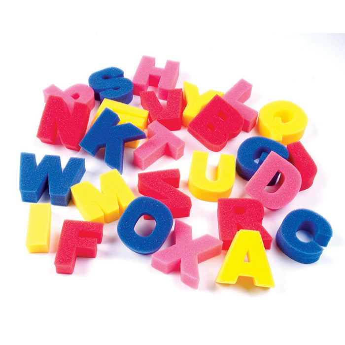 Sponge Letters - Supplies by Teachers