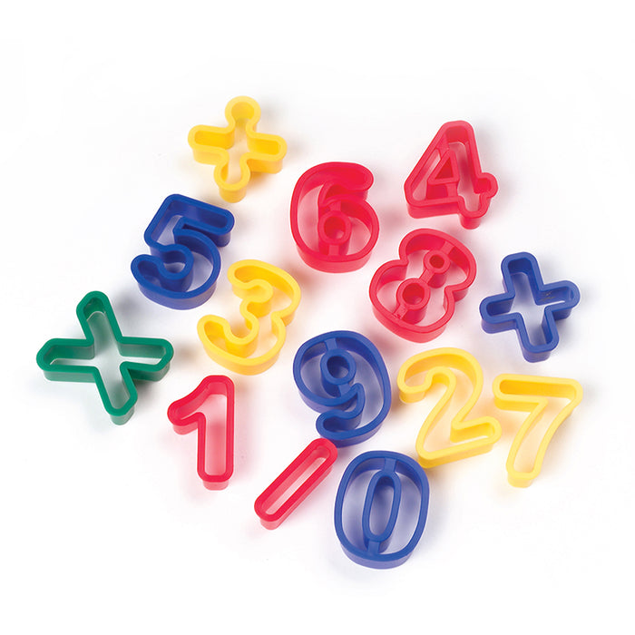 Dough Cutters Numbers - Supplies by Teachers