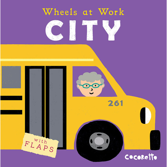 Wheels At Work Board Book Emergency - Supplies by Teachers