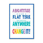 A Bad Attitude Is Inspire U Poster Paint - Supplies by Teachers