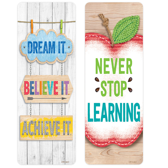 Upcycle Style Quotes Bookmarks Motivational