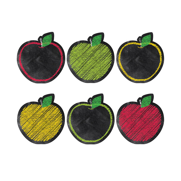 Chalk It Up Apples 6in Designer Cut Outs