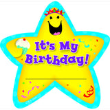 Star Badges Its My Birthday