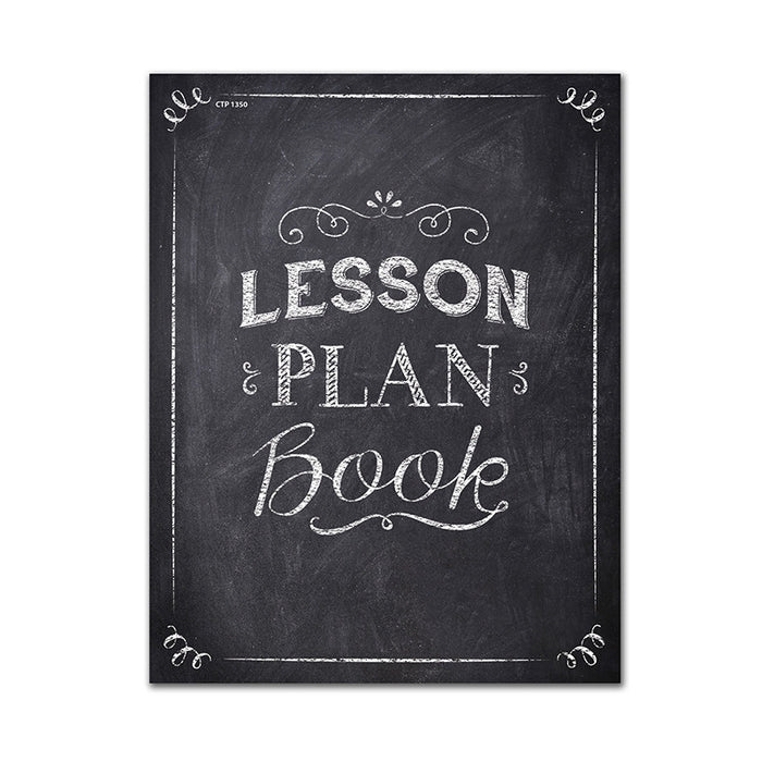 Chalk It Up Lesson Plan Book - Supplies by Teachers