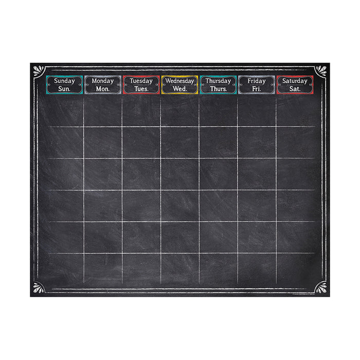 Chalk It Up Large Calendar Chart