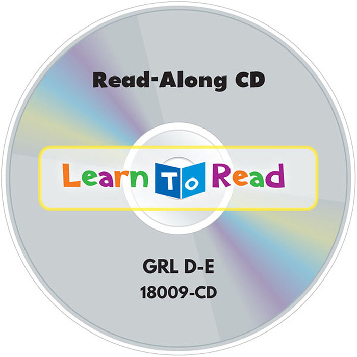 Learn To Read Read Along Cd 8 Lvl D - Supplies by Teachers