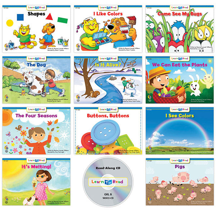Variety Pk 1 Cd Lvl Ab Learn To Read - Supplies by Teachers