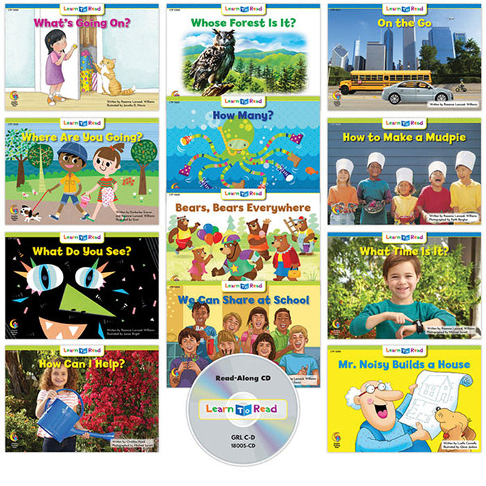 Learn To Read Variety Pk 4 Cd Lvl C - Supplies by Teachers